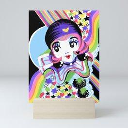 Pierette Rainbow in the Dark Mini Art Print