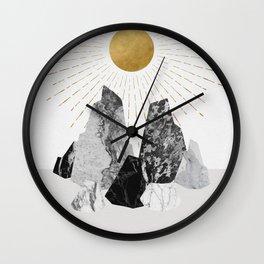 Rock Formation No.2 Wall Clock