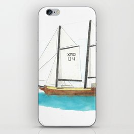 S/Y Pichacho- draft view iPhone Skin