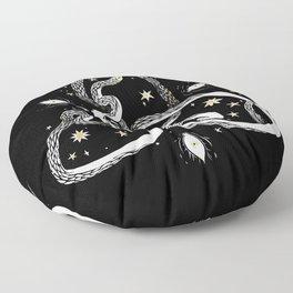 Star Serpent Floor Pillow