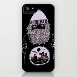 Ocean dreamer sailor iPhone Case