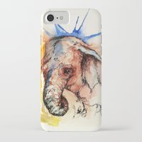 africa iPhone & iPod Cases featuring Africa by Abigail Leigh