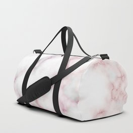 Pattern of red and blue marble Duffle Bag