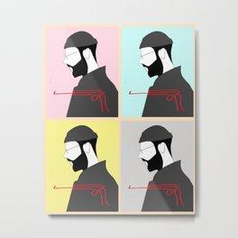 Leon collage Metal Print