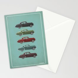 Five Oldsmobiles Stationery Cards