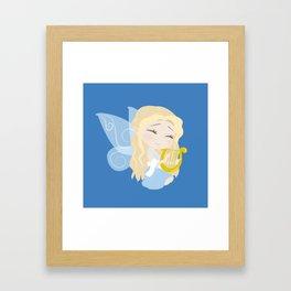 Musical Fairy Framed Art Print
