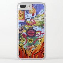 Burnin' Paper 2 Clear iPhone Case