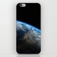 earth iPhone & iPod Skins featuring Earth by Space99
