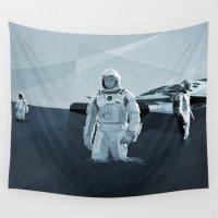 interstellar Wall Tapestries featuring Interstellar by ANDRESZEN