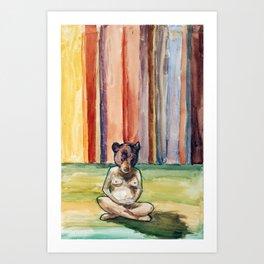 Mothr Bear Art Print