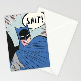 Funny night man Stationery Cards