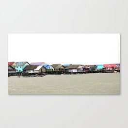 houses in thailand Canvas Print