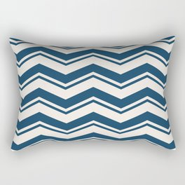 SIMPLE CHEVRONS 01 Rectangular Pillow