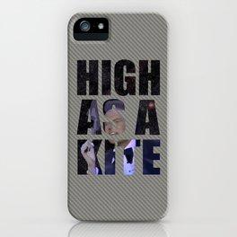 Shatner sings Rocket Man iPhone Case