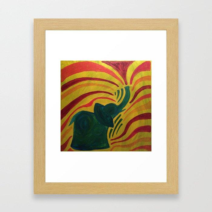elephant I Framed Art Print