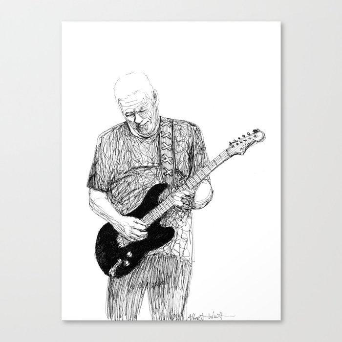 David Gilmour Canvas Print