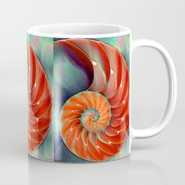 Nautilus Shell - Nature's Perfection by Sharon Cummings Coffee Mug