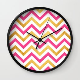 Chevron 32 Wall Clock