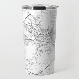 Minimal City Maps - Map Of Florence, Italy. Travel Mug
