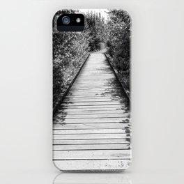 Mt. A Long Bridge iPhone Case