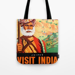 Jaipur the Pink City Tote Bag