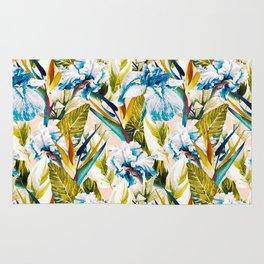 Floral Exotic Pattern II Rug