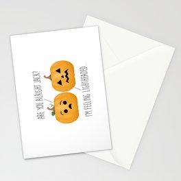 Lightheaded Jack-O-Lantern Stationery Cards