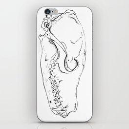 Fox Skull iPhone Skin