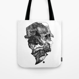 The art of Spielberg Tote Bag