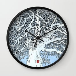 The Knight's Rest Wall Clock