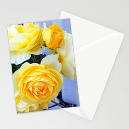 The perfect lemon rose Stationery Cards