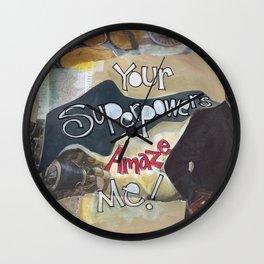 Superpower Wall Clock