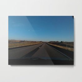 Open Road Metal Print