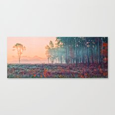 Wisley Common In Art Canvas Print