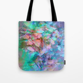Pastel Abstract Hydrangea Tote Bag