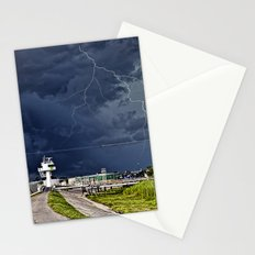 Storm near New Orleans Stationery Cards