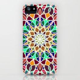 Mandala Indian decorative pattern. iPhone Case