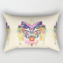 Demon Kitty Rectangular Pillow