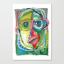 Innocent Bystander Canvas Print