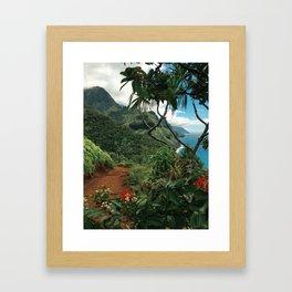 Kalalau Kauai Framed Art Print