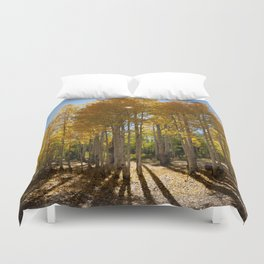 Autumn Blaze outside of Crested Butte, Colorado for #Society6 Duvet Cover