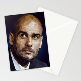 Pep Guardiola Stationery Cards