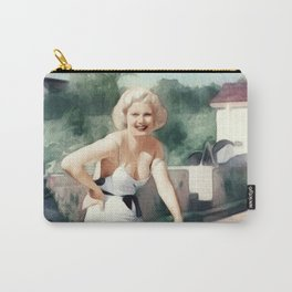 Jean Harlow, Actress Carry-All Pouch