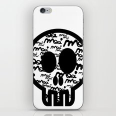 MOOIMOOI SKULL iPhone & iPod Skin
