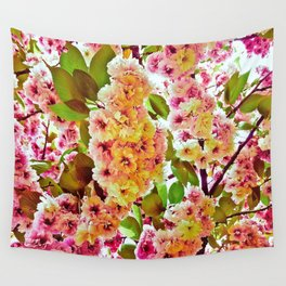 Polychrome Beauty In Full Bloom Wall Tapestry