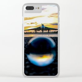 in and out of focus Clear iPhone Case