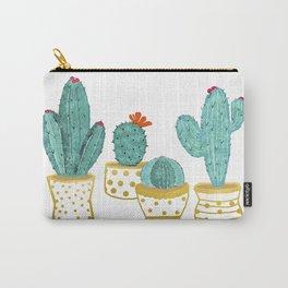Cactus Garden || #society6artprint #decor Carry-All Pouch