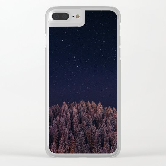 Seize The Night Clear iPhone Case