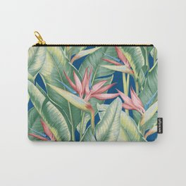 Flowers Birds of Paradise Carry-All Pouch