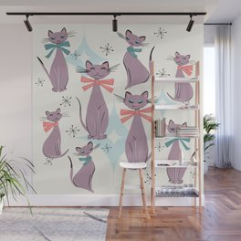 A Captivating Catalogue Of Classy Cats Wall Mural